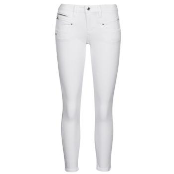 Clothing Women 5-pocket trousers Freeman T.Porter ALEXA CROPPED S-SDM White