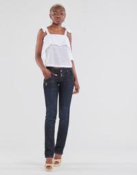 Clothing Women Straight jeans Freeman T.Porter AMELIE SDM Eclipse