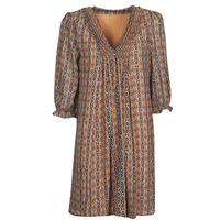 Clothing Women Short Dresses Freeman T.Porter JUNA SAMBA Orange