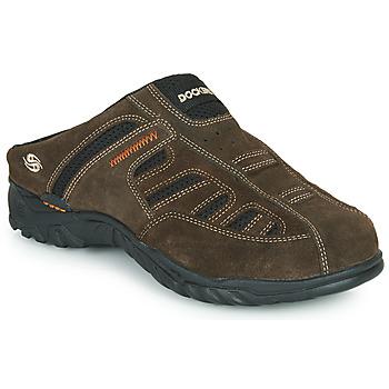 Shoes Men Clogs Dockers by Gerli 36LI005-320 Brown