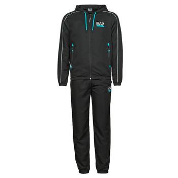 Clothing Men Tracksuits Emporio Armani EA7 3KPV02-PNP5Z-1200 Black