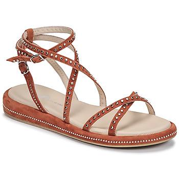 Shoes Women Sandals Fru.it 6780-100-COLTO Brown
