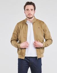 Clothing Men Jackets Teddy Smith SANSON Beige
