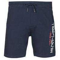 Clothing Men Shorts / Bermudas Teddy Smith MICKAEL Marine