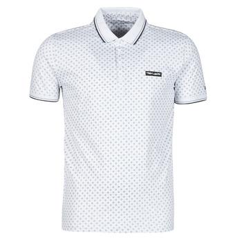 Clothing Men Short-sleeved polo shirts Teddy Smith PASY 2 MC White