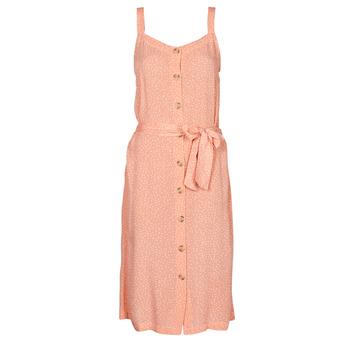 Clothing Women Short Dresses Rip Curl TALLOWS SPOT MIDI Peach