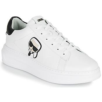 Shoes Men Low top trainers Karl Lagerfeld KAPRI MENS KARL IKONIC 3D LACE White