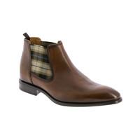 Shoes Men Mid boots André CABALLO Cognac