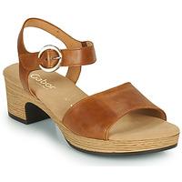 Shoes Women Sandals Gabor 6272153 Camel