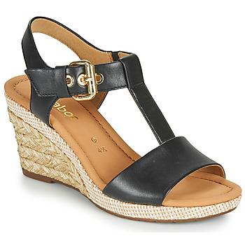 Shoes Women Sandals Gabor 6282457 Black