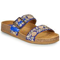 Shoes Women Mules Desigual ARIES EXOTIC Blue
