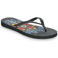 Shoes Women Flip flops Desigual FLIP FLOP BUTTERFLY Black