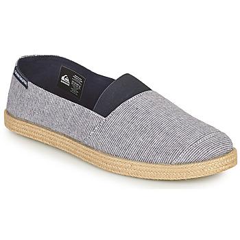 Shoes Men Espadrilles Quiksilver ESPADRILLED Blue