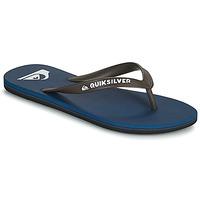 Shoes Men Flip flops Quiksilver MOLOKAI Marine