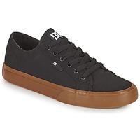 Shoes Men Low top trainers DC Shoes MANUAL Black / Gum