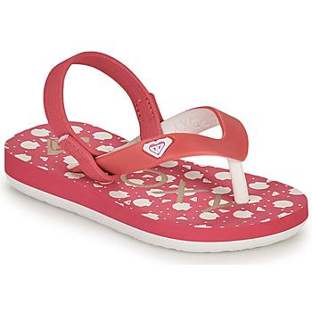 Shoes Girl Flip flops Roxy TW TAHITI VI Pink