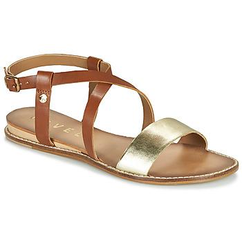 Shoes Women Sandals Ravel ASPEN Gold / Camel