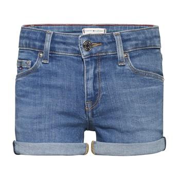 Clothing Girl Shorts / Bermudas Tommy Hilfiger KG0KG05773-1A4 Blue