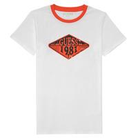 Clothing Boy Short-sleeved t-shirts Guess L1GI09-K8HM0-TWHT White