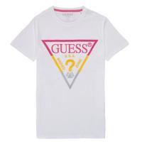Clothing Boy Short-sleeved t-shirts Guess H1RJ05-K8HM0-P66P White
