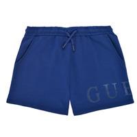 Clothing Girl Shorts / Bermudas Guess J1GD00-KAN00-PSBL Marine