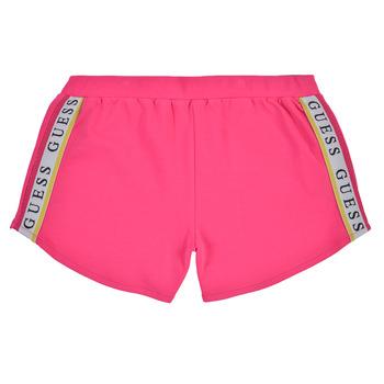 Clothing Girl Shorts / Bermudas Guess J1GD12-KAE20-JLPK Pink
