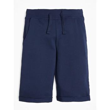 Clothing Boy Shorts / Bermudas Guess L93Q25-K5WK0-C765 Marine