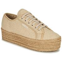 Shoes Women Low top trainers Superga 2790 JUTECOTROPEW Beige