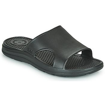 Shoes Men Sliders Isotoner MONA Black