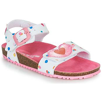 Shoes Girl Sandals Agatha Ruiz de la Prada BIO White