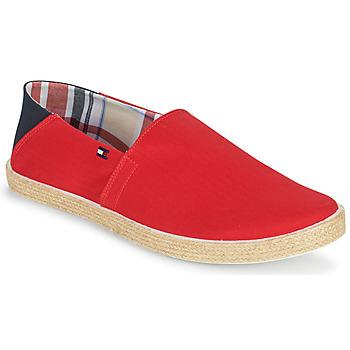 Shoes Men Espadrilles Tommy Hilfiger EASY SUMMER SLIP ON Red