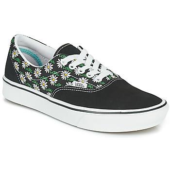 Shoes Women Low top trainers Vans COMFYCUSH ERA Black / White