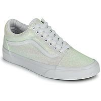Shoes Women Low top trainers Vans OLD SKOOL White