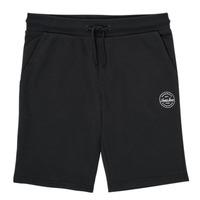 Clothing Boy Shorts / Bermudas Jack & Jones JJI SHARK JJSWEAT Black