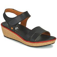 Shoes Women Sandals Art CAPRI Black