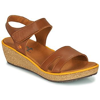 Shoes Women Sandals Art CAPRI Brown
