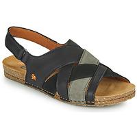 Shoes Women Sandals Art CRETA Black