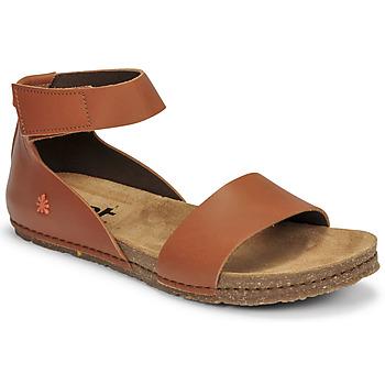 Shoes Women Sandals Art CRETA Brown