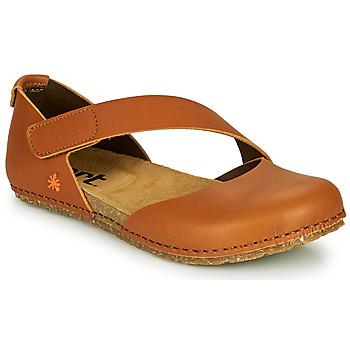 Shoes Women Flat shoes Art CRETA Brown