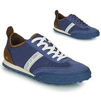 Shoes Men Low top trainers Art CROSS SKY Blue / Brown