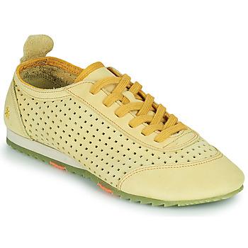 Shoes Women Low top trainers Art KIOTO Yellow