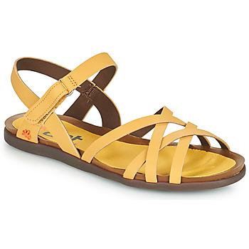 Shoes Women Sandals Art LARISSA Yellow