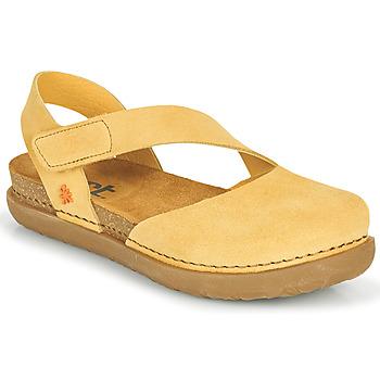 Shoes Women Flat shoes Art RHODES Yellow
