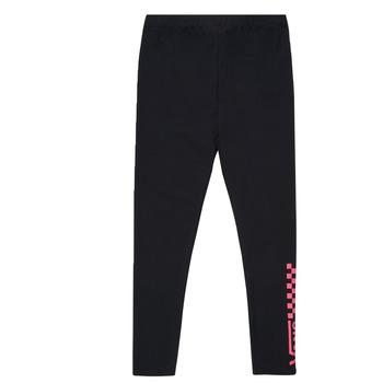 Clothing Girl Leggings Vans CHALKBOARD LEGGING Black