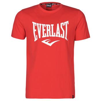 Clothing Men Short-sleeved t-shirts Everlast EVL- BASIC TEE-RUSSEL Red