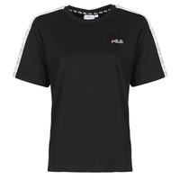 Clothing Women Short-sleeved t-shirts Fila JAKENA Black