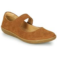 Shoes Women Flat shoes El Naturalista CORAL Brown