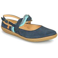 Shoes Women Flat shoes El Naturalista CORAL Marine
