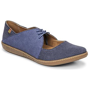 Shoes Women Flat shoes El Naturalista CORAL Blue