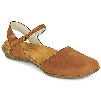 Shoes Women Sandals El Naturalista WAKATAUA Brown